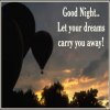 Click to send a Good Night Card from AngelWinks